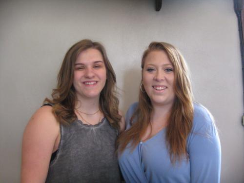Bailey Theesfeld & Shannon Kennedy