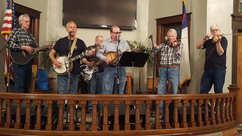 Bluegrass Demo group