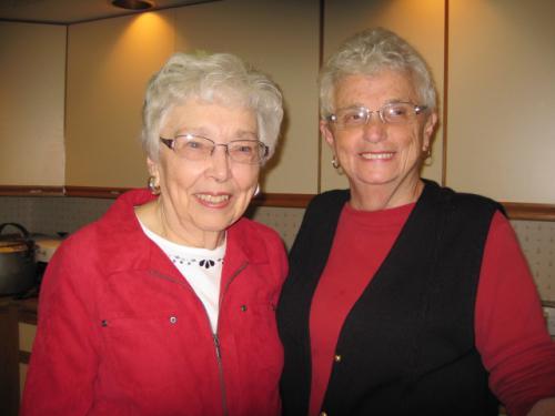 Norma Pittman & Pauline Killen  2.10.13